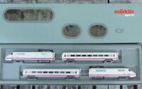 Märklin 3671 ICE Experimental Triebwagen-Zug BR 410 der DB 4-Teile, digital, OVP