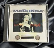 MADONNA OFFICIAL LUCKY STAR CD CHILE RARE 2001 Yellow Label / Jewel Case