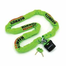 Mammoth  Motorcycle Scooter Thatcham Approved Lock and chain 10x10x1.8m 514F-2