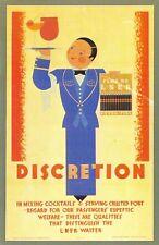 Nostalgia Postcard 1920s LNER Railway Advertising Poster Reproduction Card NS7
