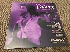 RARE ALBUM VINYL LP 10T PRINCE LIVE SYRACUSE MARCH 1985 (NEUF) PURPLE RAIN TOUR