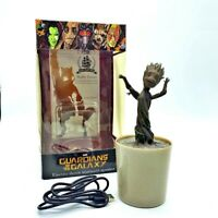Baby Groot in Vase Action Figure Toy Model Audio Box Bluetooth Speaker Guardians