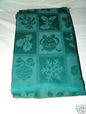 Tablecloth Christmas Melody Damask 60 X 120 Oblong NIB