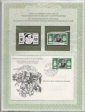 enveloppe timbre neuf et argent association receveurs de la poste  Monaco