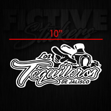 Tequileros de Jalisco Sticker Decal White **FREE SHIPPING**