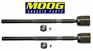 For Ford Mustang Lincoln Mercury Capri Set of 2 Front Inner Tie Rod Ends Moog