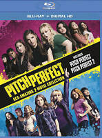 Pitch Perfect 1 & 2 Amazing 2-Movie Collection (Blu-ray Disc, 2015, 2-Disc Set)