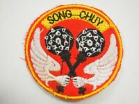 ARVN Air Force Helicopter Squadron 34th Song Chuy Twin Maces Vietnam War Patch