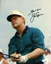 Jack Nicklaus Jsa Autograph  8x10 Photo Hand Signed