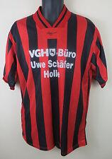 Alas Retro Camiseta De Fútbol Fútbol Jersey Vintage Camiseta Rojo maillot 7/8 XL