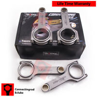 4340 Forged Connecting Rods For Toyota 5EFE Corolla Paseo Conrods & Bolts 800HP