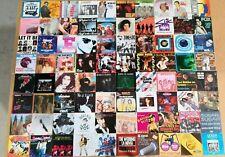250x POP ROCK & Sonstige 7 inch SINGLE Vinyl Schallplatten Paket Sammlung