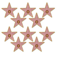 10 MINI HOLLYWOOD STAR AWARD NIGHT CUTOUTS PARTY DECORATION