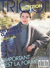 Catalogue TRICOT SELECTION n° 149 - Septembre 1988 - 18 modèles surtout femmes