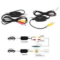 Wireless 2.4Ghz RCA Video Transmitter & Receiver Kit for Car Reversing Camera HG