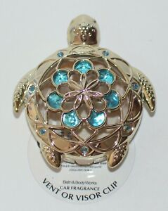 BATH & BODY WORKS SEA TURTLE SCENTPORTABLE HOLDER VISOR VENT CLIP CAR FRESHENER