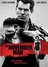 The November Man (DVD, 2014) Pierce Bronson Olga Kurylenko Fran Walsh