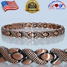 XOXO COPPER MAGNETIC GOLF BRACELET WOMEN ARTHRITIS STRONG MAGNET A149