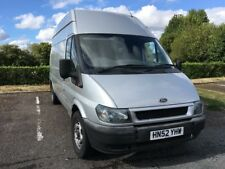 Ford Transit lwb high top crew cab van 2002