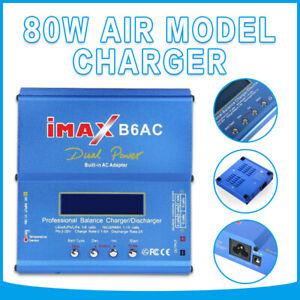 iMax B6AC 80W RC Lipo NiMh Digital Battery Balance Charger Discharger Control