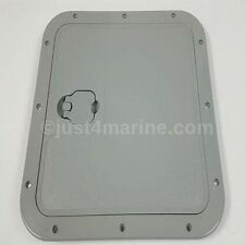Marine Deck Inspection Access Hatch Grey 375 x 375mm Removable Lid