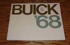 Original 1968 Buick Full Line Deluxe Sales Brochure 68 Electra Riviera Skylark