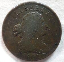 1807 Draped Bust Half Cent, VF