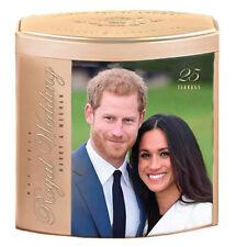 Prince Harry & Ms Meghan Markle Royal Wedding 2018 Commemorative Tea Gift Box