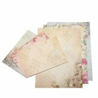 40 Sheet Vintage Stationery Sets with Envelopes for Writing Letters F8I4