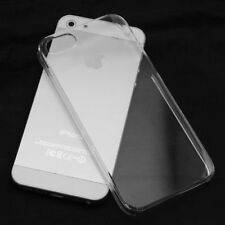 Crystal Clear Ultra Thin Hard Case Cover for iPhone 5  5G 5s SE Transparent