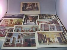 Vintage Russian USSR Leningrad Museum Postcard Set MUSEE de l'Ermitage 1979