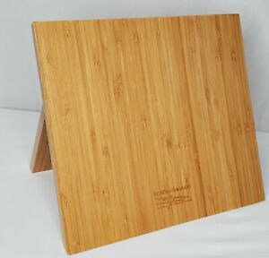 Eco True Bamboo Magnetic Knife Holder Cutting Board Chef Organizer Knives