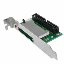 "CF Flash Card to 40 Pins IDE 3.5"" Male Adapter Converter w Bracket Mount CT"