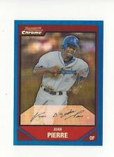 2007 Bowman Chrome Blue Refractors #68 Juan Pierre Dodgers /150