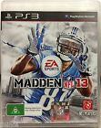 EA SPORTS MADDEN NFL13 PS3 SONY PlayStation 3 - IMMACULATE CONDITION, COMPLETE!!