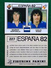 ESPANA 82 n 227 EL SALVADOR QUINTANILLA RIVERA , Figurina Sticker Panini (NEW)