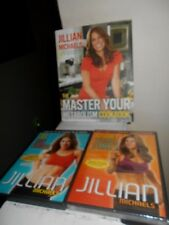 Jillian Michaels Weight Loss/Body Makeover New Dvd/ 30 Day Shred Dvd & Cook Book