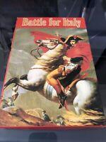 Battle For Italy Avalon Hill Bookshelf Board Game 1983