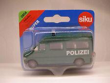Siku 0804 - Polizeibus / Police Van 2006 Mercedes Einsatzfahrzeug NEU & OVP