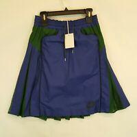 NikeLab x Sacai Sports Womens Skirt Sz S Small 716919 455 New w Tags Green Blue