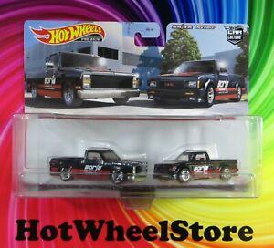 2021 Hot Wheels  Car Culture BORLA  '83 CHEVY SILVERADO   '91 GMC SYCLONE   HWM1