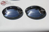 32-35 Ford Plain Smooth 3 Ring Hub Caps Hot Rat Street Rod Pickup Truck New