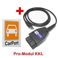 AutoDia K509 mit CarPort-Diagnose Software Pro-Modul KKL USB Diagnose Interface