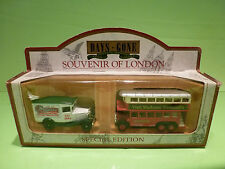 LLEDO DAYS GONE - SOUVENIR OF LONDON - BUS TUSSAUD,S   - GOOD CONDITION IN BOX