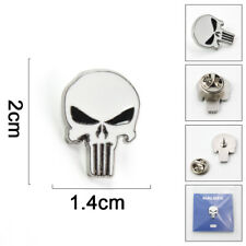 The Punisher Metal Enamel Pins and Brooch cosplay Lapel chest Pin