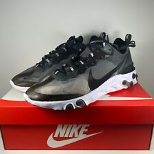 Nike React Element 87  Anthracite Black-White AQ1090-001 New Multi size 8-13