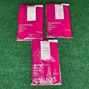 Lot of 3 Silkies 8813 XT BK Sheer Renu Support Pantyhose X-Tall Black