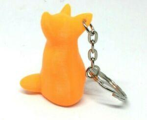 Cute Fox Key Ring / Key Chain / Bag Tag Charm