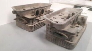 Porsche 356  Genuine Original Part     Pair of Cylinder Heads