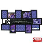 11-Opening Life Collage Photo Picture Hanging Frame Black Wall Home Decor